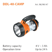 DEFORT DDL-40-CAMP
