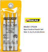 FINKAL CPS104 CENTRE PUNCH SET