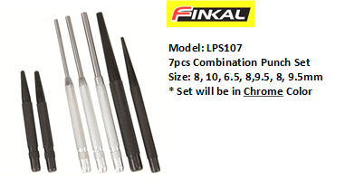 FINKAL LPS107 COMBINATION PUNCH SET