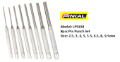 FINKAL LPS108 PIN PUNCH SET