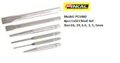 FINKAL PCS960 COLD CHISEL SET