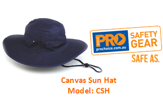 PROCHOICE CSH CANVAS SUN HAT