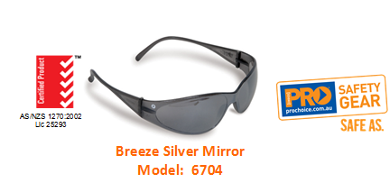 PROCHOICE 6704 BREEZE SILVER MIRROR