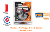 PROCHOICE FSPG FILTERSPEC PRO GOGGLE & MASK COMBO