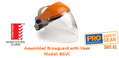 PROCHOICE BGVC ASSEMBLED BROWGUARD WITH VISOR