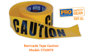 PROCHOICE CT10075 BARRICADE TAPE - CAUTION
