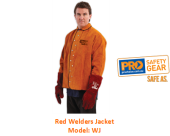 PROCHOICE WJ RED WELDERS JACKET