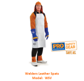 PROCHOICE WSV WELDERS LEATHER SPATS