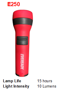 EVEREADY FLASHLIGHT E250