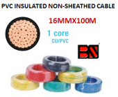 PVC INSULATED NON-SHEATHED CABLE 16MMX100M