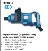 MI-3800GS IMPACT WRENCH