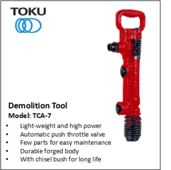 TCA-7 DEMOLITION TOOL