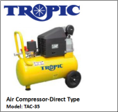 TAC-35 AIR COMPRESSOR - DIRECT TYPE