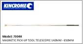KINCROME 70044 MAGNETIC PICK-UP TOOL TELESCOPIC 140MM - 650MM