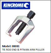 KINCROME 08081 TIE ROD END & PITMAN ARM PULLER