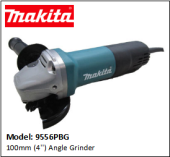 MAKITA 9556PBG ANGLE GRINDER 100MM (4'')