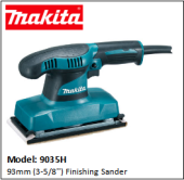 MAKITA 9035H 93MM (3-5/8'') FINISHING SANDER