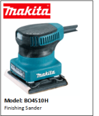 MAKITA BO4510H FINISHING SANDER 180W