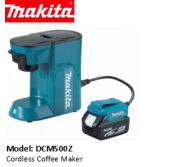 MAKITA DCM500Z CORDLESS COFFEE MAKER