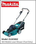 MAKITA DLM380Z 36V Mobile Lawn Mower (Tool Only)