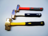 NO 2 Non-Sparking Sledge Hammer C/w PVC Handle