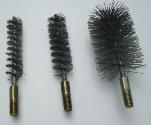 "100MM X 100MM WIRE TUBE BRUSH "" THREAD M12 """