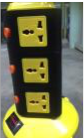 MULTI-EXTENSION SOCKET OUTLET 11 WAY C/W 2WAY USB OUTLET