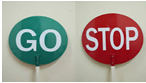 METAL HANDLE FOR STOP/GO