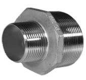 "1""X3/4""  S/S 316 REDUCING NIPPLE"