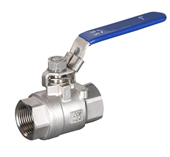 "4""  S/S 304 2PCS (FULL BORE) BALL VALVE- 1,000LB SANKI BRAND"