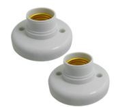 E27 CEILING BULB HOLDER (HEAVY DUTY)