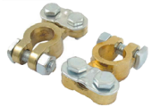 AUTO CAR SOLDERLESS BRASS BATTERY TERMINAL CLAMP / CONNECTOR
