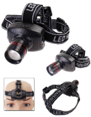 3 MODE LED  CREE MINI ZOOMABLE AAA HEADLAMPS FLASHLIGHT
