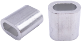 ALUM FERRULE SINGLE EYE 6.0MM