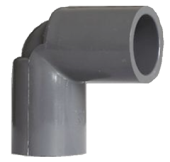 "PVC 1.1/2"" ELBOW (90 DEGREE) - AW"