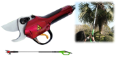 CORDLESS TELESCOPIC ELECTRIC PRUNING SHEAR