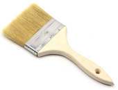 PAINT BRUSH WOODEN HANDLE 1""