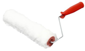 "PAINT ROLLER 9"" WITH HANDLE - WHITE"