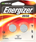 ENERGIZER 3V LITHIUM BATTERY CR2032 (2 PCS)