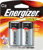 ENERGIZER C BATTERY (2 PCS)