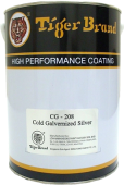 TIGER COLD GALVANISED PAINT SILVER 5L (CG208)