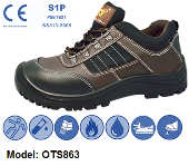 OTS 863 LOW-CUT SAFETY SHOE WITH STRING
