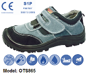 OTS 865 LOW-CUT SAFETY SHOE VELCRO TYPE