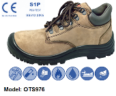 OTS 976 MID-CUT WITH STRING SAFETY SHOE