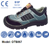 OTS 867 LOW-CUT SAFETY SHOE WITH STRING