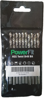 POWERFIT HSS DRILL BIT 1.0MM