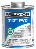 WELD-ON 717PG PVC GLUE - 473ML