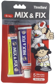 MIX & FIX RAPID STEEL EPOXY 55G
