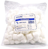 COTTON BALLS NON-STERILE (PER PACK)