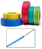 100% COPPER PVC INSULATED CABLE (1.5MM)